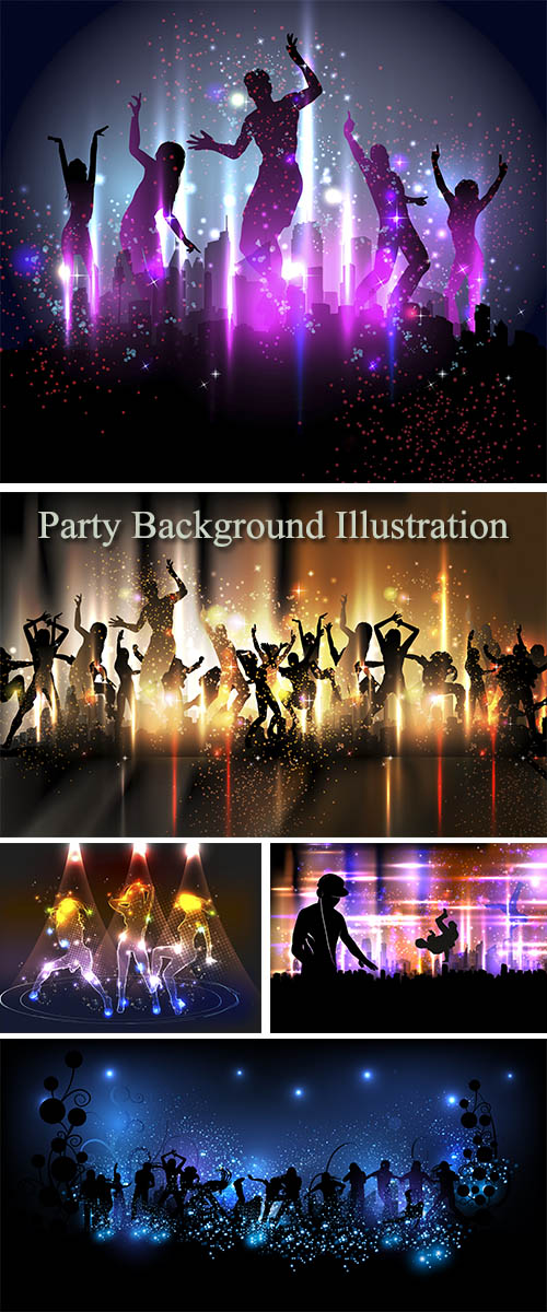 Stock: Party Background Illustration
