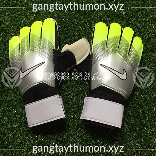 Găng Tay Thủ Môn Nike Tiempo Match Xám Chuối