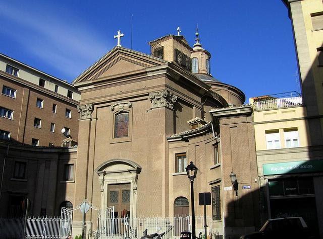 Iglesia de san marcos viendo madrid for Puerta 8 san marcos