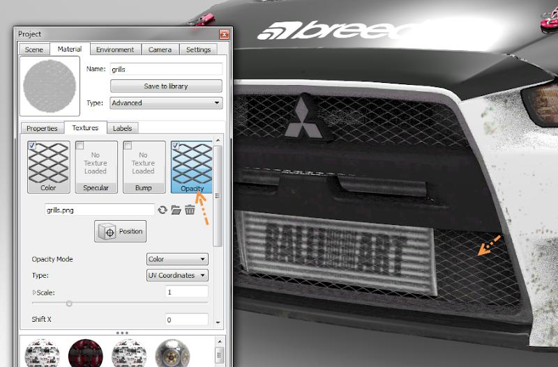 การเพิ่มลายรถใหม่ลงไปใน DiRT 3 และการทำภาพ Tiles ของรถ Newcar44