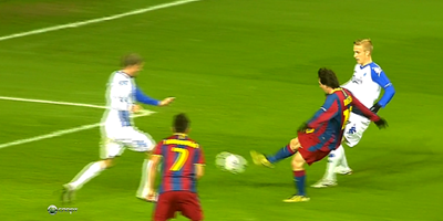 UEFA-Group D : Kobenhavn 1 vs 1 Barcelona 02-11-2010