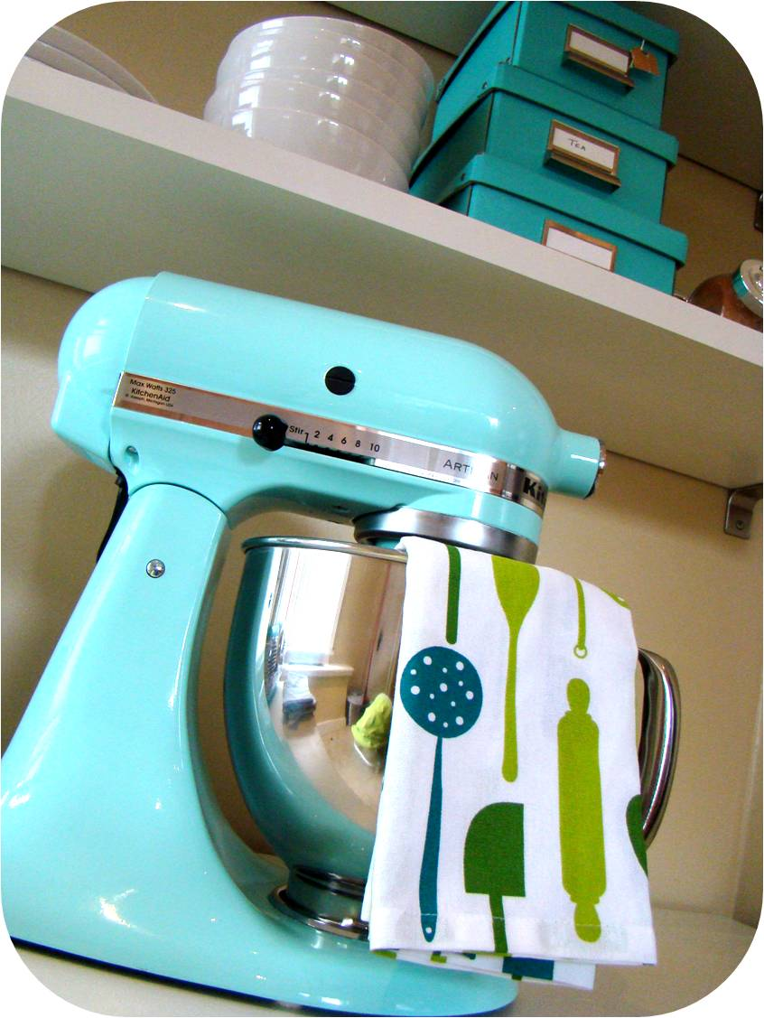 Turquoise Kitchen Aid Mixer - Kitchen Designs