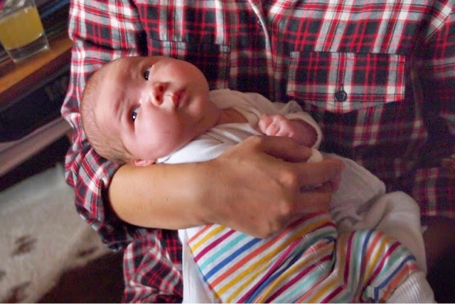 When Noah meets baby Liva
