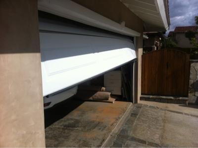 Daily Dose of Doors: Garage Door Hit By Car