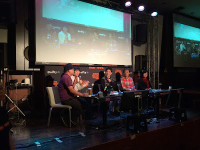 第二部は編集長と西牟田靖さん、坪井伸吾さん、熊沢正子さん