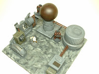 Industrial equipment Science Fiction war game terrain and scenery - UniversalTerrain.com