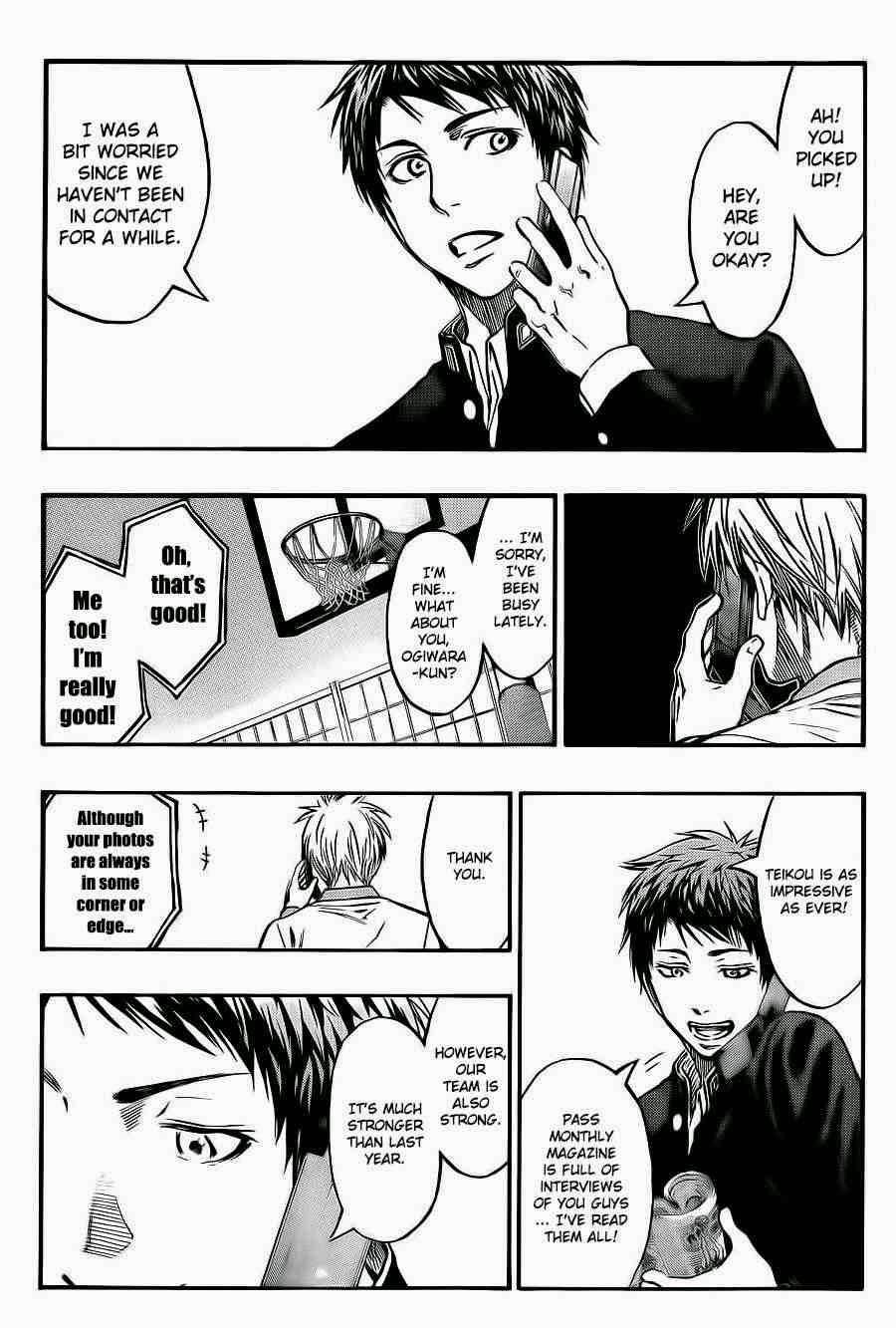 Kuroko no Basket Manga Chapter 223 - Image 15