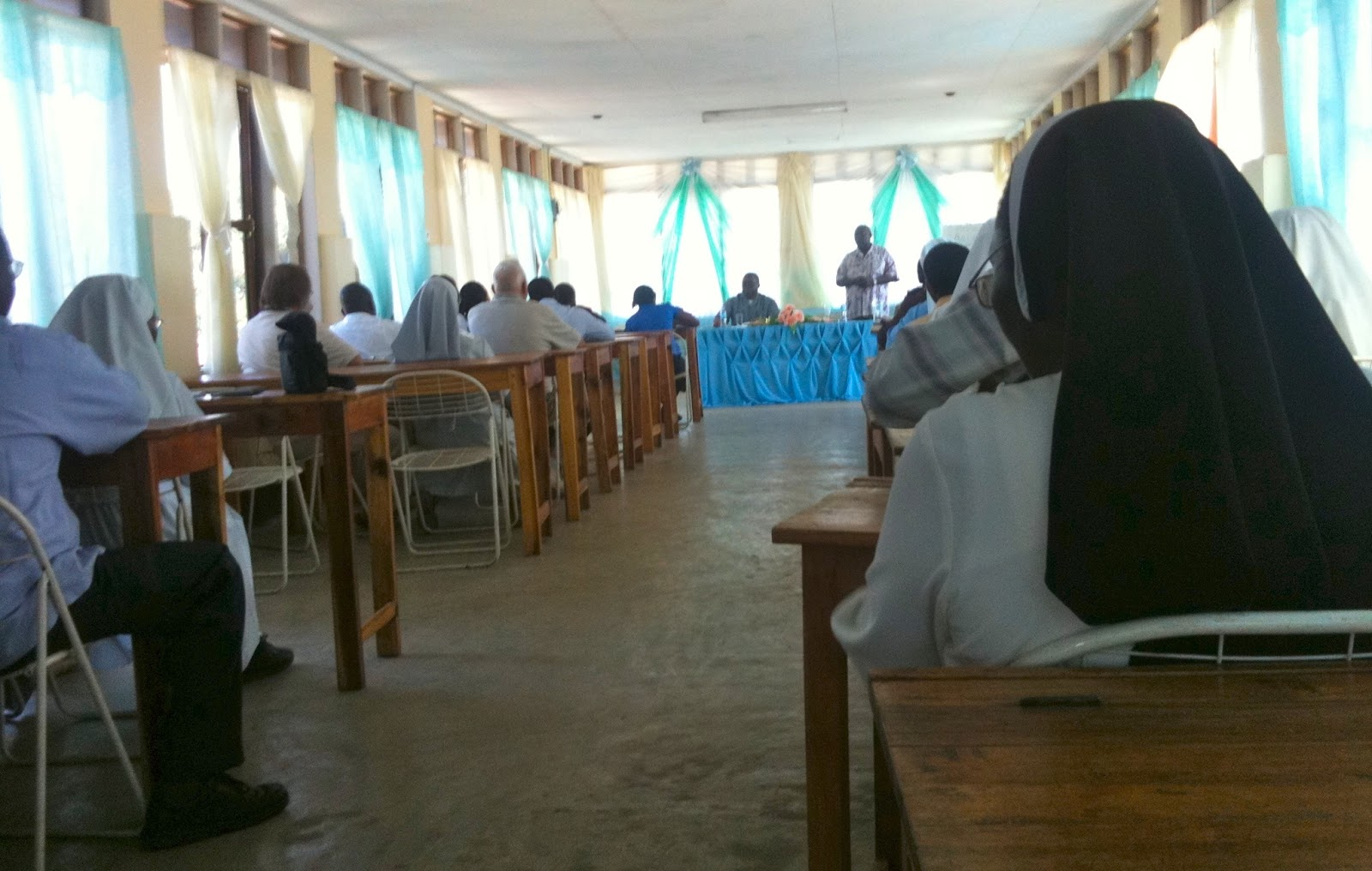 It was interesting and I learned a lot - this being my first ever meeting  on diocesan level concerning education (as we started our pre-school just  ...