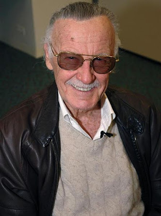 Caixa de texto:   Fig 2.3 Stan Lee.
