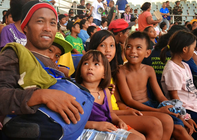 Storm surge drill in Tacloban