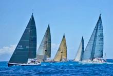 J/120 sailing St Maarten, Caribbean