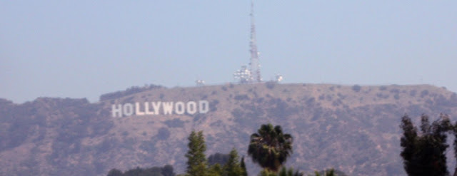 Les fameuses lettres Hollywood