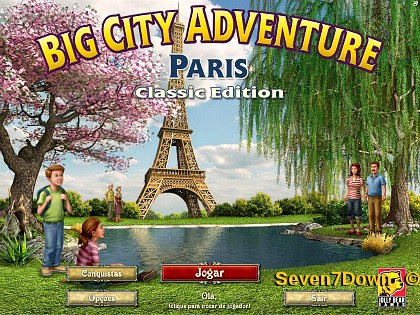 Big City Adventure 6: Paris Em Português