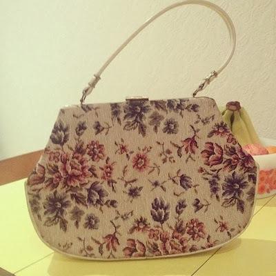 Tapestry handbag from Vintage Emporium Ltd.