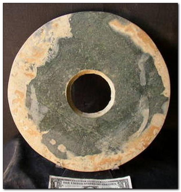 Инопланетные склепы из дисков вблизи Тибета
