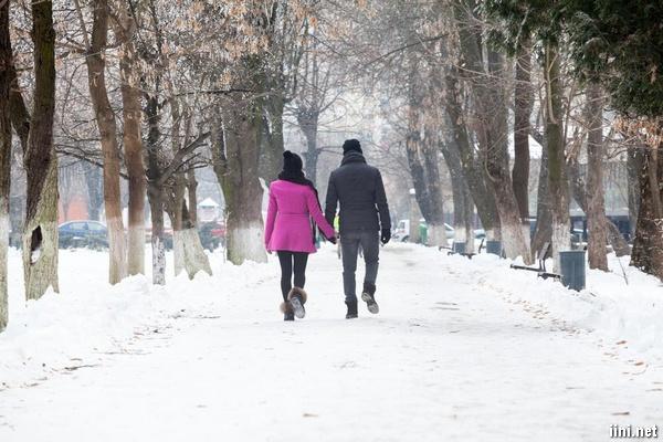 thơ tình 5 chữ về mùa đông