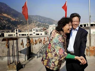 Photo extraite de Monsieur et Madame Zhang, documentaire de Fanny Tondre et Olivier Jobard, 2012, 52'