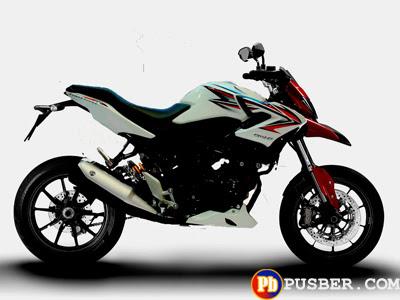 Modifikasi Motor Honda CB150R Supermoto
