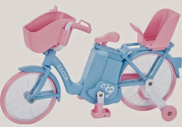 xe đạp dành cho Licca sử dụng pin