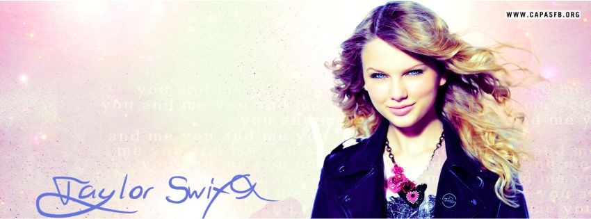 Capas para Facebook Taylor Swift