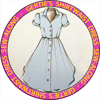 Gertie's Shirtwaist Dress Sew-Along