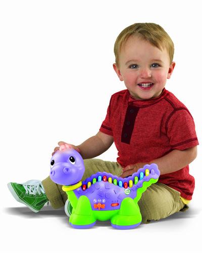 Khủng long học chữ phát nhạc Leapfrog Lettersaurus giúp bé phát triển trí tuệ và thúc đẩy vận động