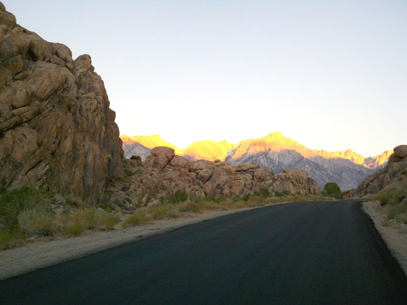 Eastern Sierra • Alabama Hills and Mount Whitney