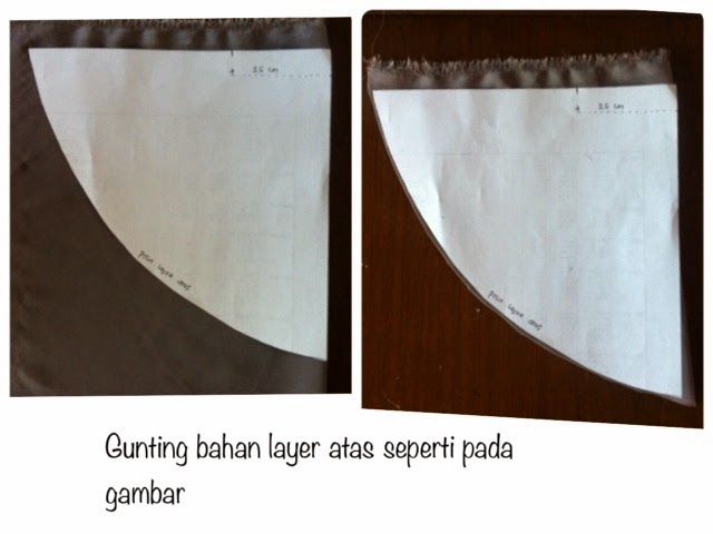 Tutorial Double Layer Khimarkerudung Jungle Sew