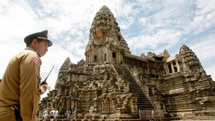 More Stuff: Cambodia's Angkor temples added to Google's Street View
