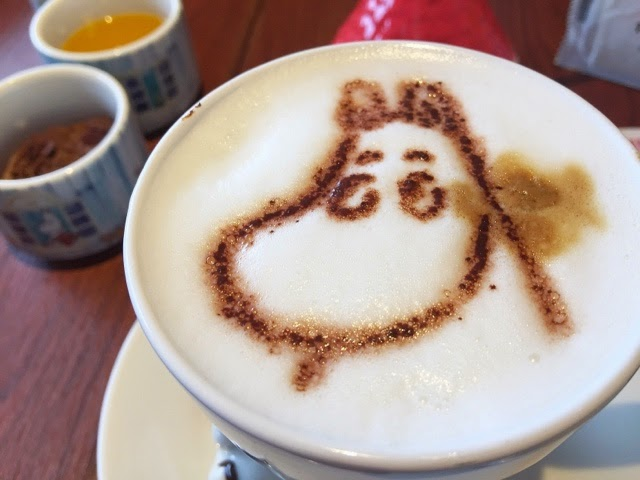 moomin cafe latte
