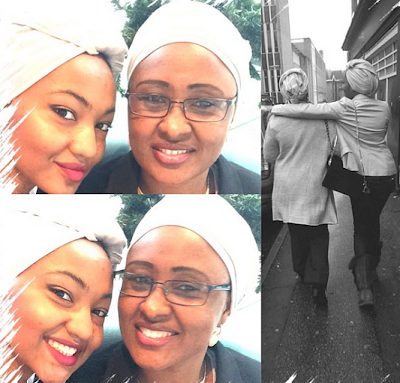 Behold the pretty daughter of Mohammdu Buhari