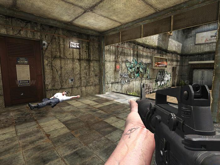 Hình ảnh trong game của Distric 187