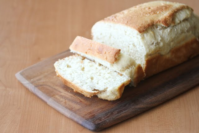 photo of a loaf of Coconut Bread