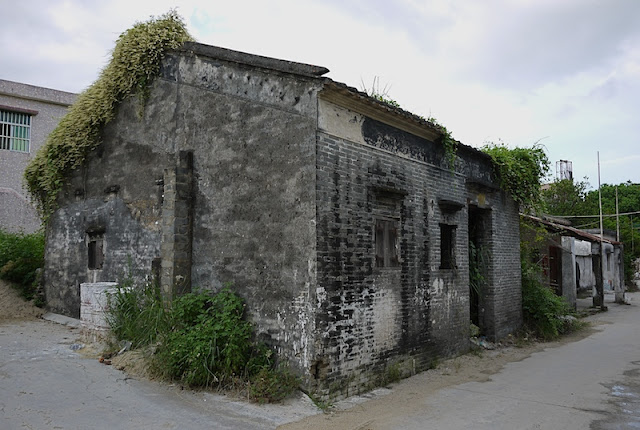 older building in Beishan Village, Zhuhai, China