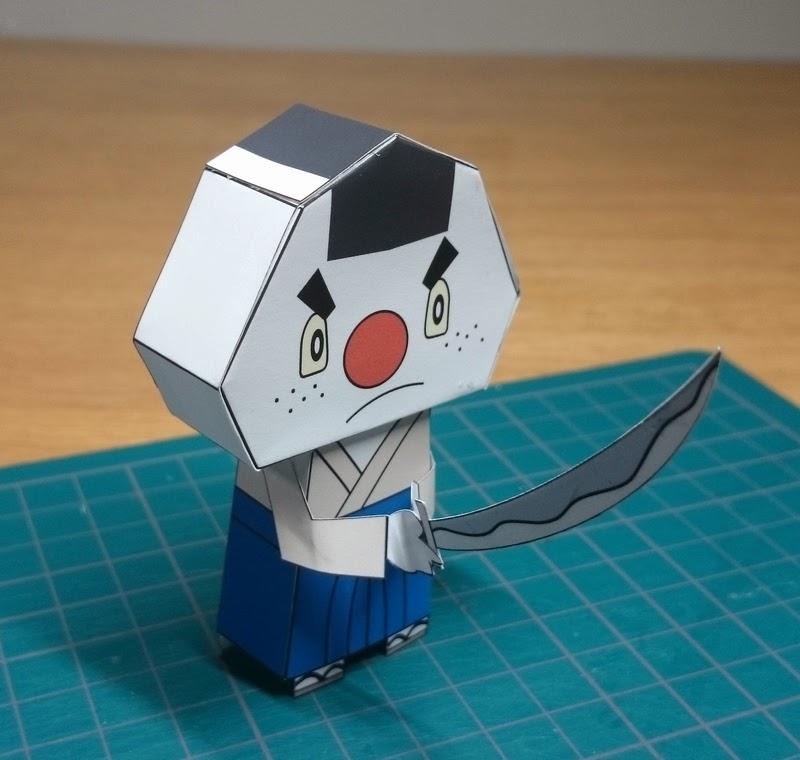 Yokai Watch Onigirizamurai Papercraft
