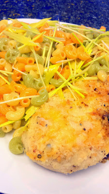 Recipe for Cheddar Garlic Oven Baked Chicken Breast