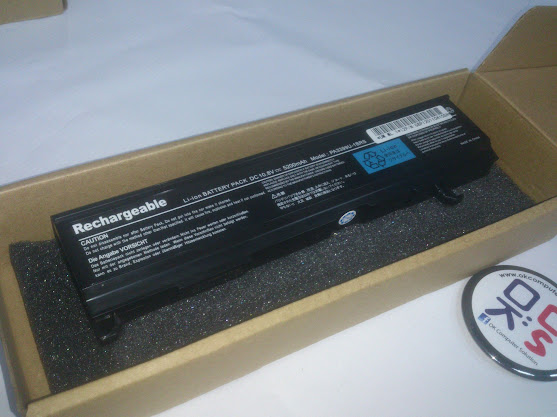 New Battery For Toshiba Satellite A80