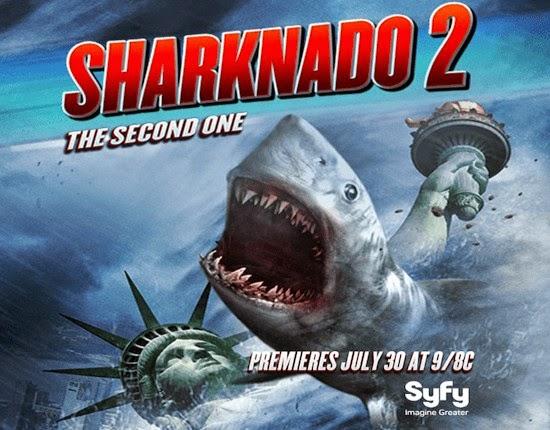 مشاهدة فيلم Sharknado 2: The Second One  مترجم
