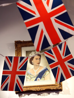Portrait of the Queen of England
