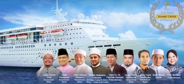pelayaran islamik kapal mewah