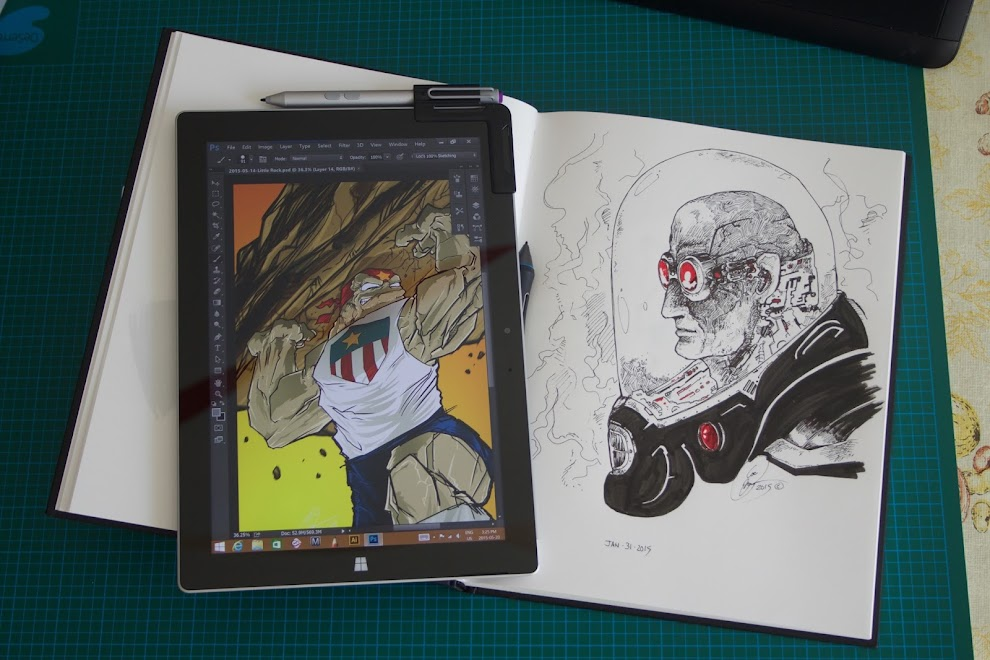 review microsoft surface 3 for artists and drawing parka blogs