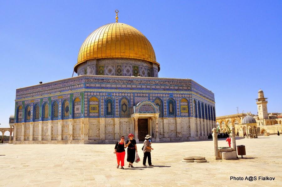 Купол Скалы, Храмовая гора. Экскурсия по Иерусалиму. Гид в Израиле Светлана Фиалкова.