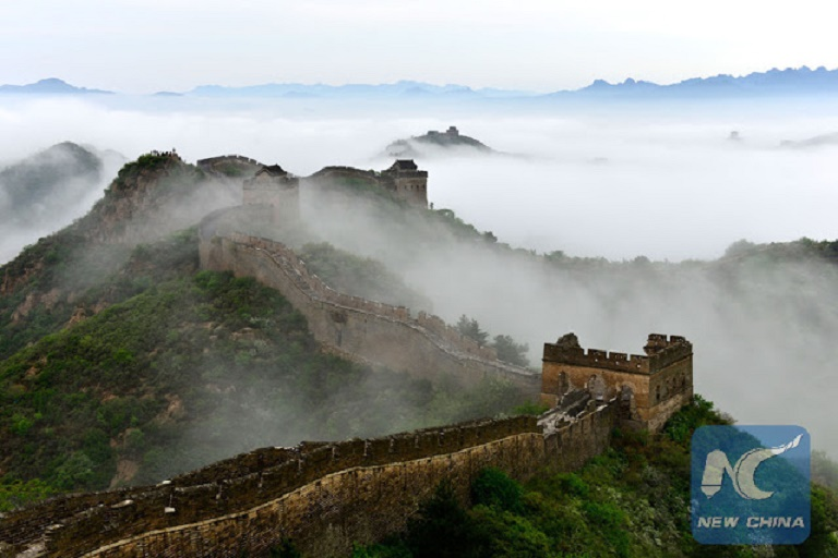 China starts restoring Great Wall's oldest section