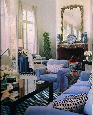 when rory cameron and his mother lived at villa fiorentina it was very neutral and without color like a black and white photograph billy baldwin said we - Billy Baldwin Interior Designer