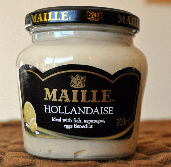 Hot Girls Cookingrecommends: Maille Hollandaise from the jar, NZ Cooking, Cooking for real. 新西兰烹饪。易于遵循的图片。