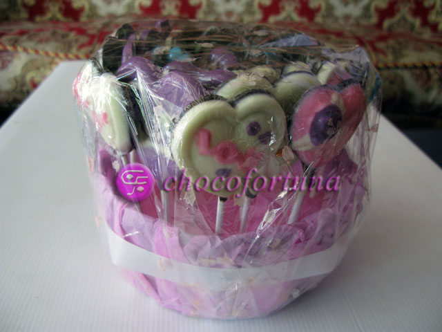 Parcel Coklat Cute Couple