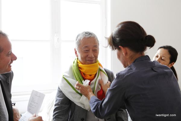 i want: Hermès Editeur Scarves by Hiroshi Sugimoto