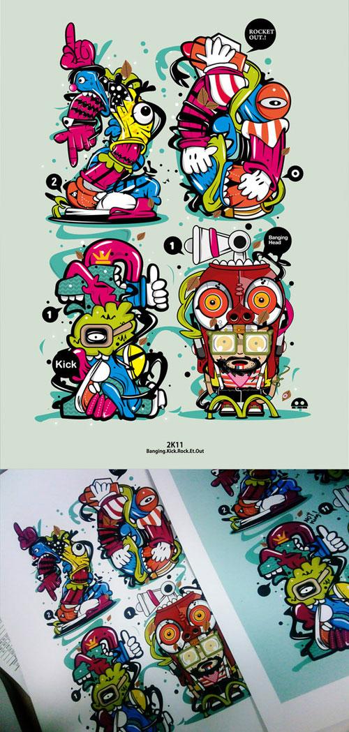 Inspirasi desain oleh Muloyoung