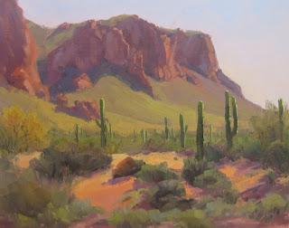 Palette Knife Painters International Desert Plein Air