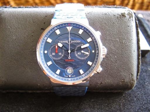 Bán đồng hồ Ulysse Nardin – inox – dây cao su – Limited 1846 cái – Size 41mm – Automatic
